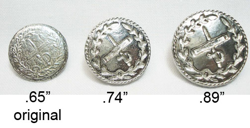 British General Buttons